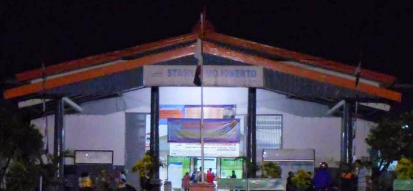 Gambar Stasiun Mojokerto