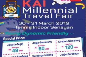 KAI Milenial Travel Fair