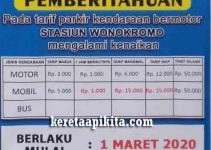 Tarif Parkir Stasiun Wonokromo