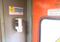 Hand Sanitizer Kereta