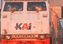 Logo KAI di Lokomotif
